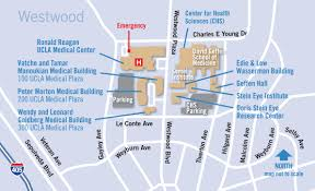 Maps and Directions for Ronald Reagan UCLA Medical Center