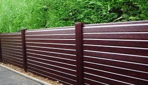 Upvc Woodgrain Effect Fencing Liniar