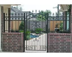 Wrought Iron Gates And Fence Designs