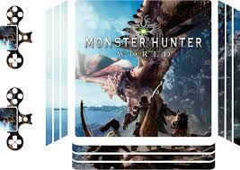 Monster Hunter World Ps4 Skin Tenstickers