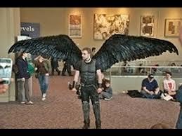 fallen angel wing costume
