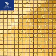 gold color mosaic tile gold foil mosaic