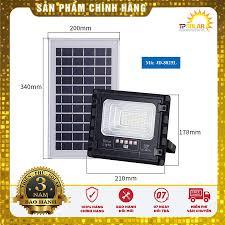Đèn pha LED năng lượng mặt trời JD Jindian JD-8825L (bản nâng cấp)