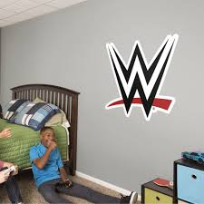 Wwe Logo Giant Officially Licensed Wwe Removable Wall Decal In 2020 Removable Wall Decals Wall Decals Removable Wall
