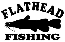 Flathead Fishing Decal Md Vinyl Outdoors Window Stickers Wildlife Decal