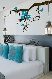Tree Branch Blossoms Custom Color Wall Decal Lg 6 Sizes Walltat Com