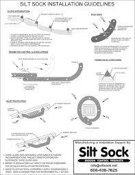 Silt Sock Silt Sock Install Guidelines