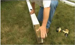 How To Install Or Repair A Vinyl Fence Post Fence Daddy