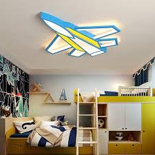 New Plane Modern Led Ceiling Lights For Children Room Bedroom Boy Kids Thefashionique