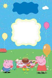 11 Convite De Aniversario Gratis Para Baixar Peppa Pig Peppa Pig