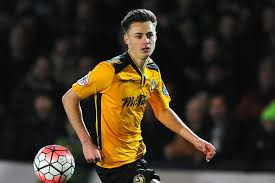 Wolves FC sign 18-year-old Newport County striker Aaron Collins for an  undisclosed fee - Wales Online
