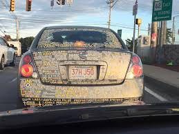 When A Car Decal Succesfully Emits The Crazy From Your Head Imgur