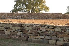 Dry Stack Retaining Wall P Allen Smith