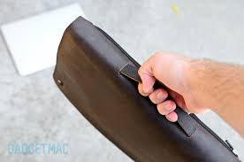 waterfield cityslicker leather macbook