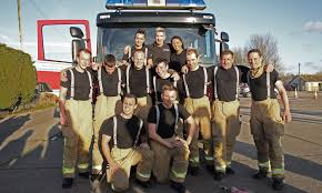 Trainee firefighters pull out all the stops for charity - West Sussex  County Council