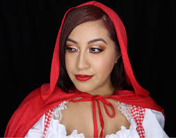 little red riding hood makeup and hair