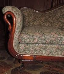 antique 1939 duncan phyfe couch sofa