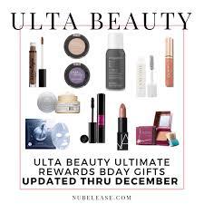 ulta beauty birthday gift 2019 by month