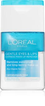 paris gentle eye and lip makeup remover