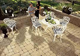 garden design with paving stones