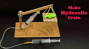 hydraulic crane science project