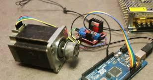 arduino using l298n driver module