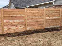 Master Halco Check Out This Great Horizontal Fence Done Facebook