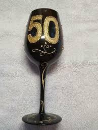 50th birthday anniversary long stem