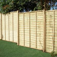 Overlap Fence Panel 4ft X 6ft Wooden Supplies