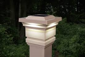 Solar Lights For Fence Posts 4x4 Lowes Uk Light Post Caps 4x6 5x5 White 6x6 Costco Metal Tan Pvc Outdoor Gear Round Expocafeperu Com