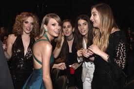 Taylor Swift, Alana Haim, Danielle Haim, Este Haim, Abigail ...