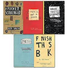Keri Smith Wreck this Journal Collection 5 Books(Finish this book, This is  not a | eBay