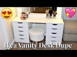 diy ikea vanity dupe 100 you