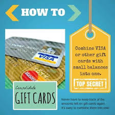 how to bine gift cards into one