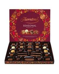thorntons seasonal selection box in