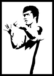 Bruce Lee Vinyl Decal Sticker Car Van Bike Vehicle Mobility Scooter Outdoor 1 90 Picclick Uk