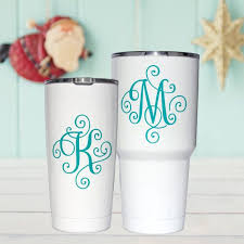 Yeti Single Letter Decal Initial Decal Letter Decal Etsy Yeti Cup Designs Decals For Yeti Cups Yeti Decals
