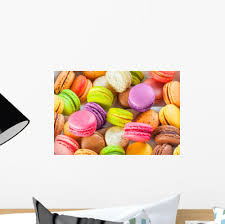 Traditional French Colorful Macarons Wall Decal Wallmonkeys Com