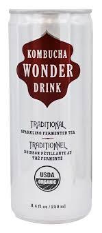 organic sparkling fermented tea