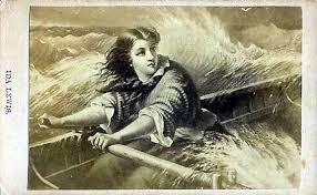 Ida Lewis rowing to the rescue | Lighthouse, Image, History