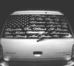 Pledge Of Allegiance Custom Decal 75 By Chris2low Vinyl Vinyl Car Stickers Window Decals Car Vinyls Car Decals Vinyl
