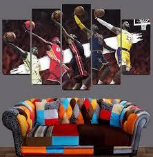 Evolution Of Lebron James Canvas 1 Piece Wall Art Framed Sports Art Direct