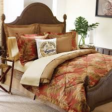 comforter rustic king appealing palm