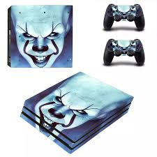 Pennywise Ps4 Pro Stickers Play Station 4 Skin Sticker Decal Cover For Playstation 4 Ps4 Pro Console Controller Skins Vinyl Stickers Aliexpress