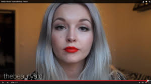 marilyn monroe inspired makeup