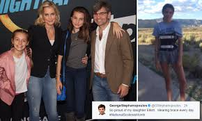George Stephanopoulos reveals his daughter has scoliosis | Daily ...