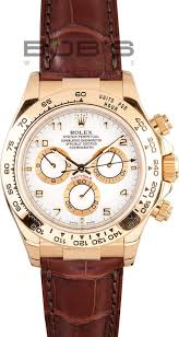 rolex daytona leather band at bob s