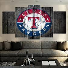 Order This Texas Rangers Barnwood Sport Full Hd Personalized Customized Canvas Art Wall Art Wall Decor Now
