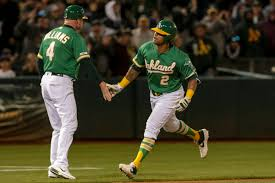 Blake Treinen and Khris Davis rounding into form for A's – The San ...