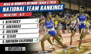 Hear Them Roar: Kentucky No. 1 in NCAA DI Women's Rankings ::: USTFCCCA